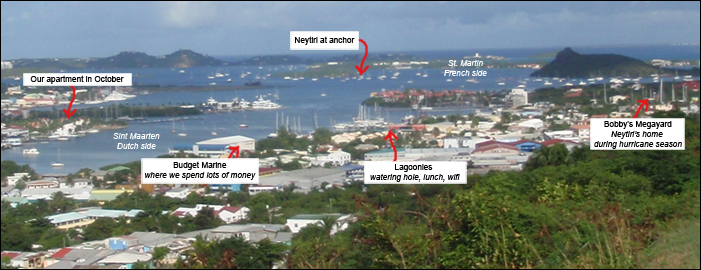 Simpson Bay Overview
