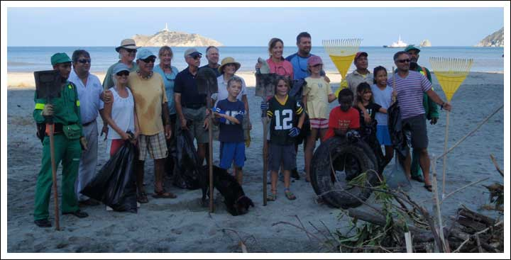 Beach CleanUp Group Shot