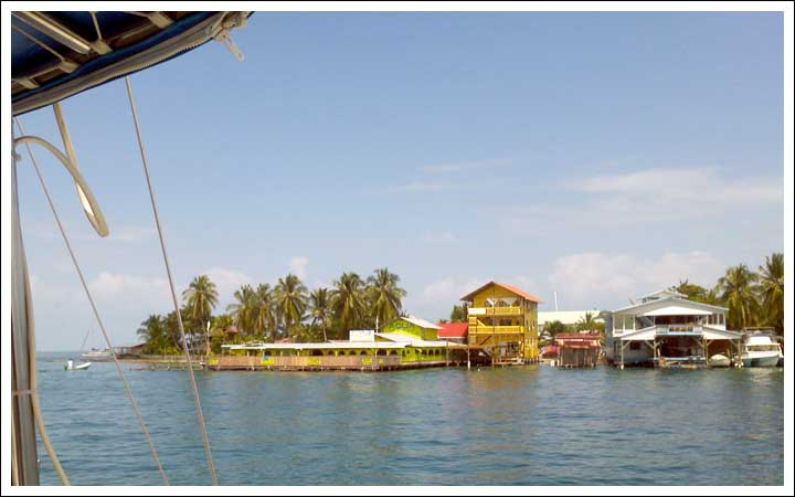 Coming Into Bocas Del Toro