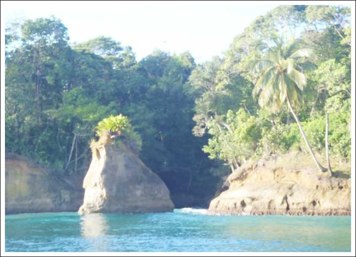 Rock Formations at Escudo Veraguas