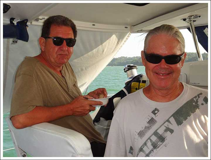 Eric, the Boat Owner, is Now in the Phillipines -- Single Handed All the Way
