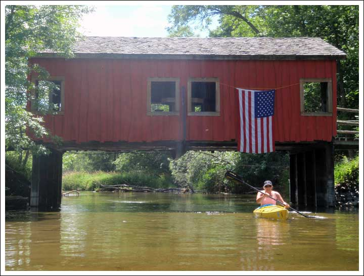 Not a Covered Bridge for Cars but for Party Folks