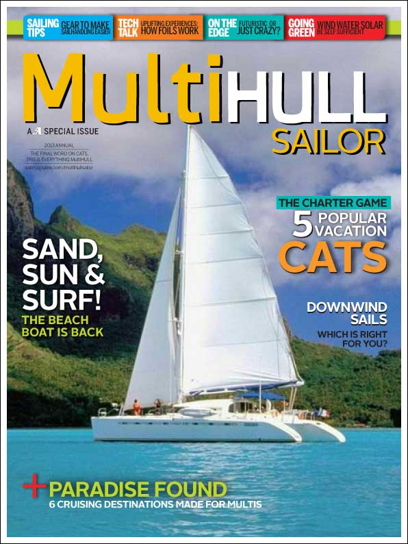 Multihull Sailor, special edition of Sail Magazine