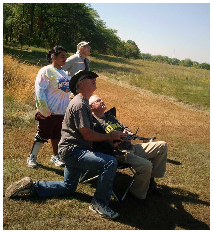 A Day at Our Private R/C Field with Dan and Anca Smith and Our Housemate, Bob Dreyer.