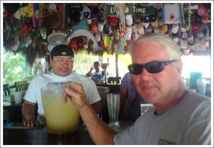 Memories of Soggy Peso in Isla Mujeres
