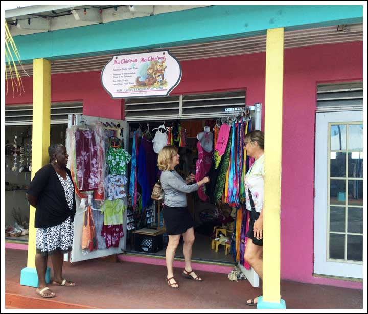 Port Lucaya - Always Time for a Little Shopping