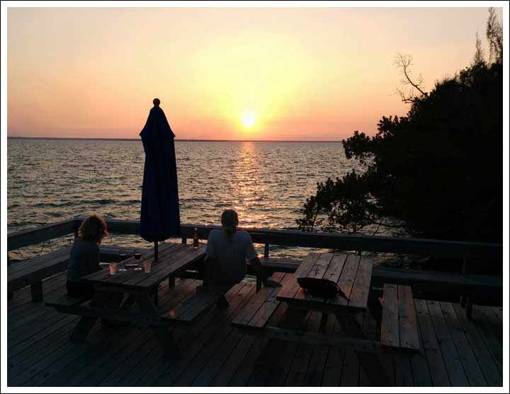 Sunset at Green Turtle
