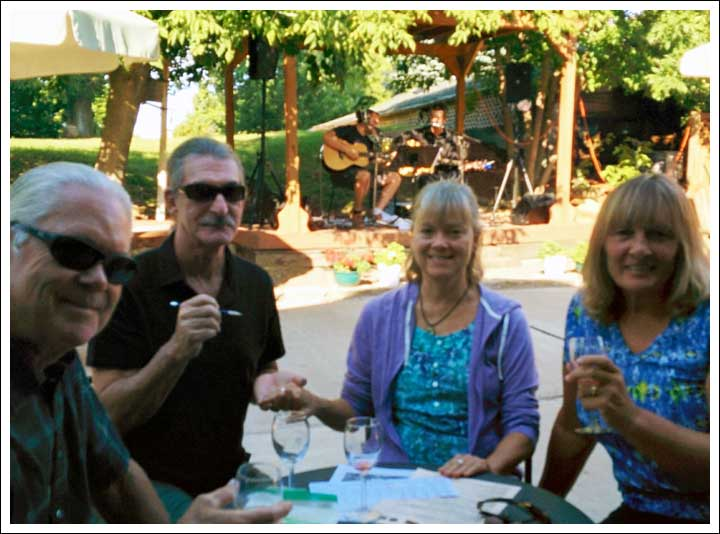 Wild Mountain Winery with Sister Barb & Michael