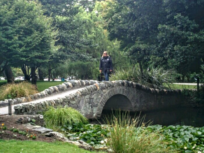 Lord of the Rings Bridge in the Queenstown Gardens