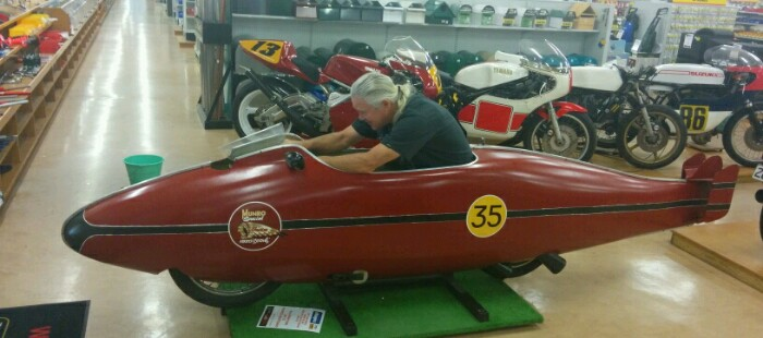 Chuck Eldridge as Burt Munro