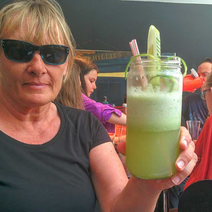 Food Was So-So But Drinks Were Amazing (Cucumber Limonada)