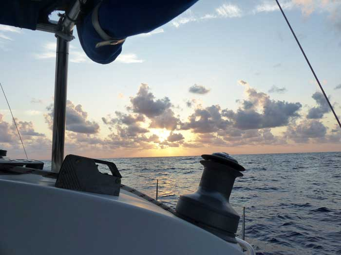 SunsetBelizeSailing