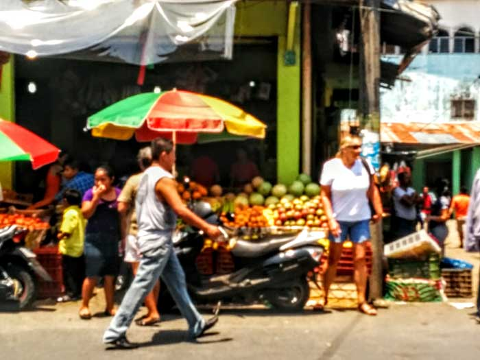 Saturday Market in Fronteras