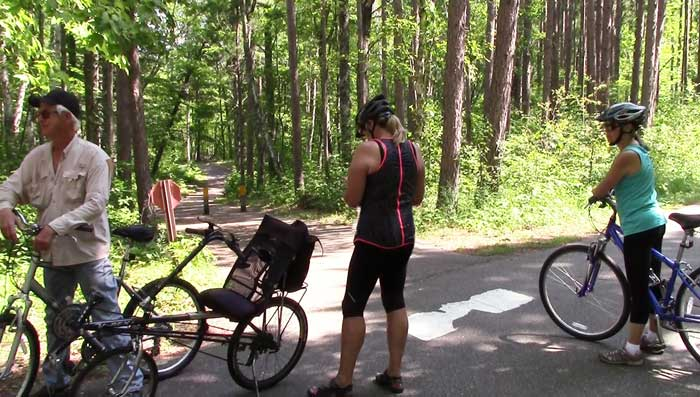 Pikes Bay Trail on Cass Lake