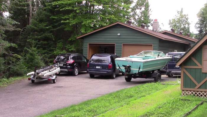 The Fleet Pulling into the Cabin