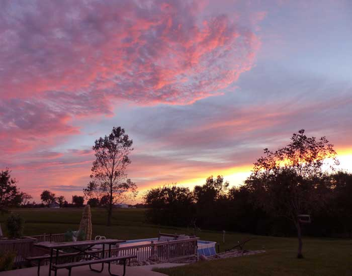 The Sunsets at Cindy & Bill's