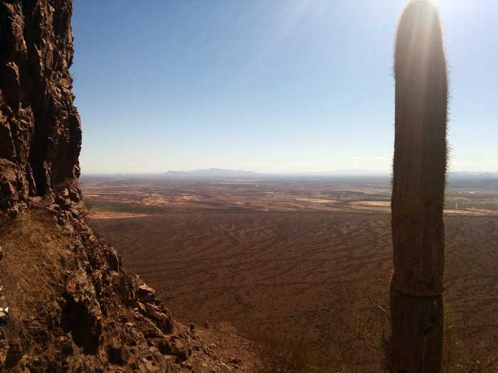 Top of Picacho Peak