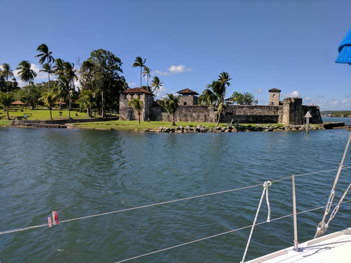 Spanish Castillo San Felipe Built to Guard Against British Pirates