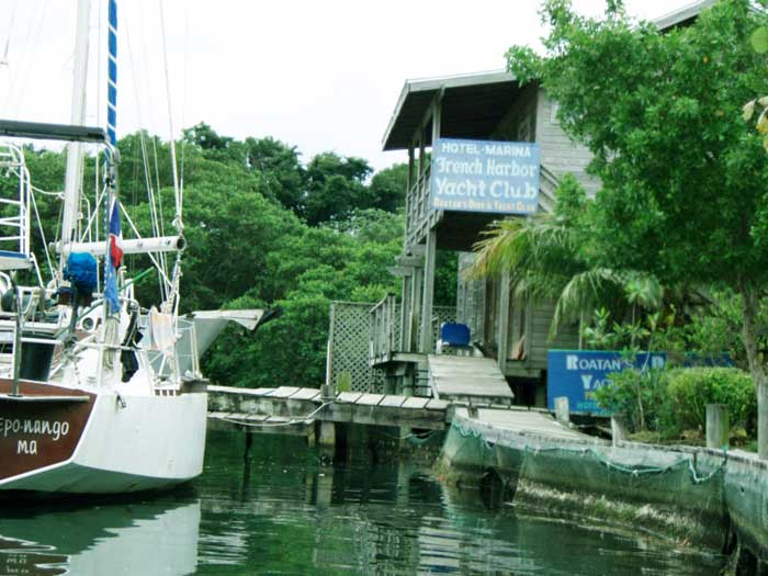 Roatan French Harbor Yacht Club