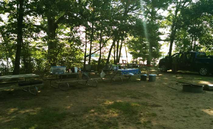 Group Site for Only Two Tents