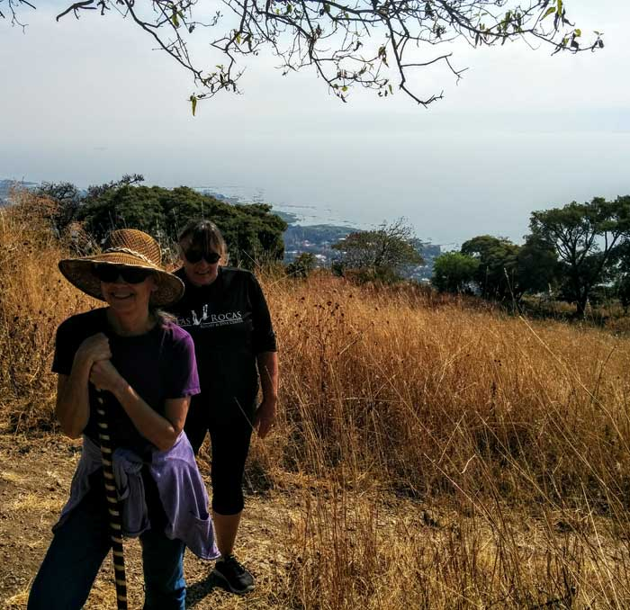 Hiking on the Mountain Over Ajijic