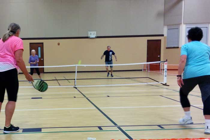 Picked Up a Pickleball Game in Destin